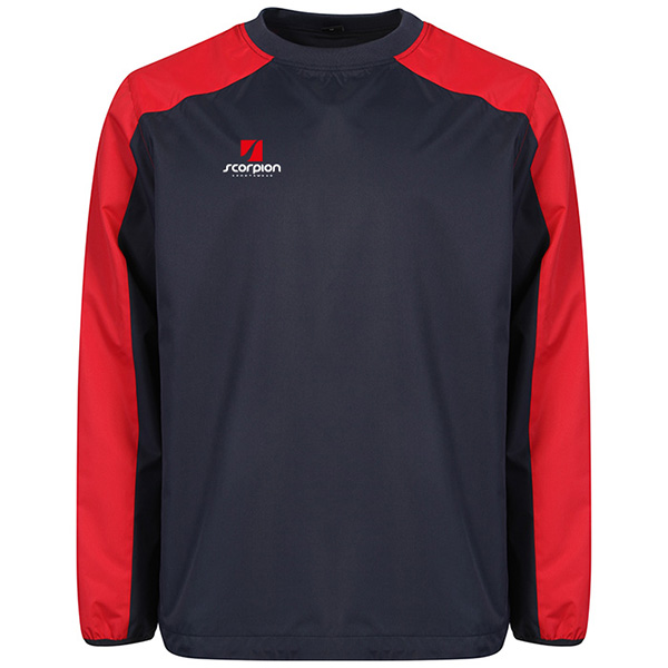 Scorpion Navy Red Pro Drill Top