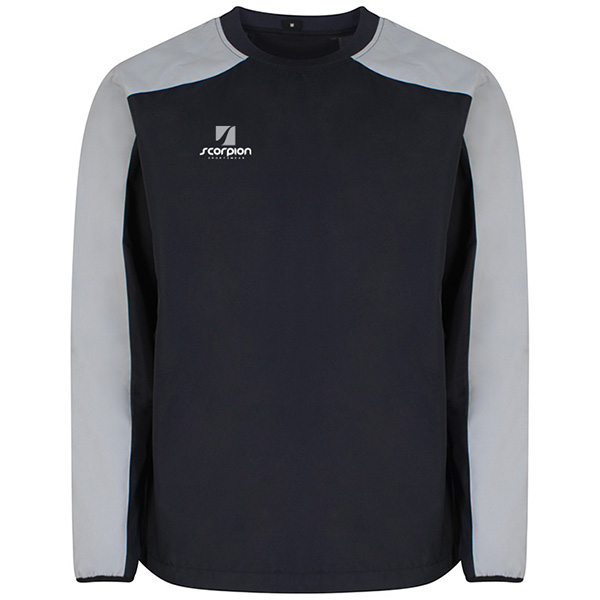 Scorpion Navy Silver Pro Drill Top