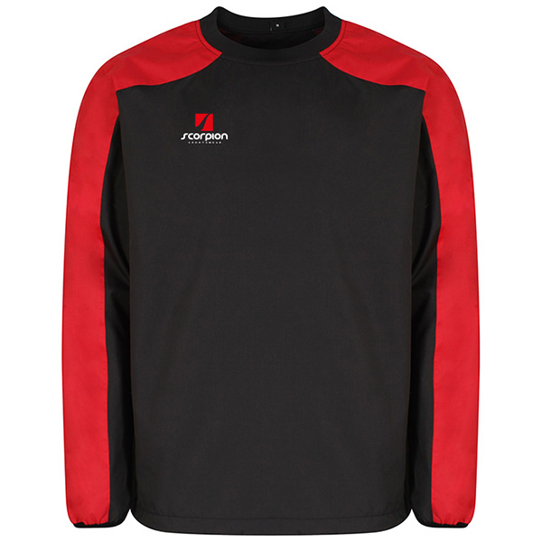 Scorpion Black Red Pro Drill Top