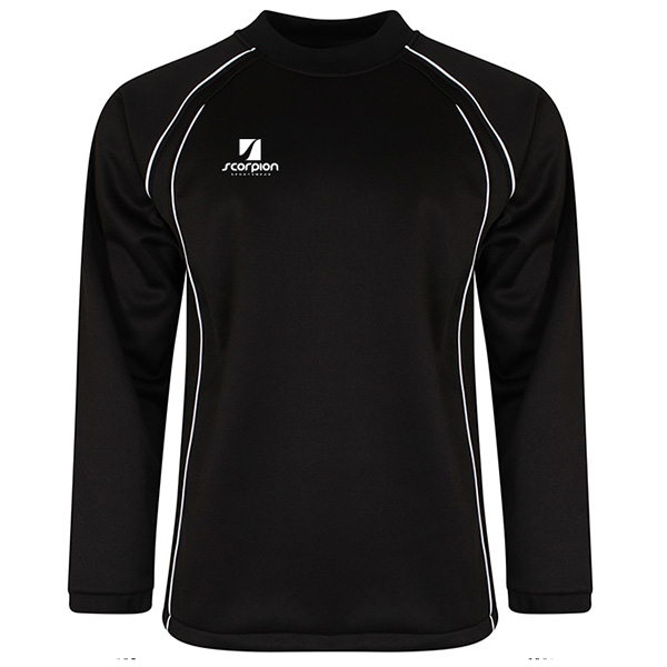 Scorpion Black Softshell Drill Top