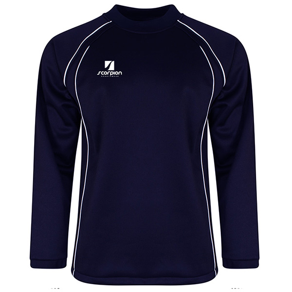 Scorpion Navy Softshell Drill Top