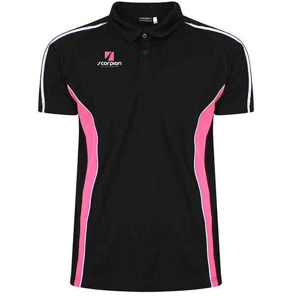 Scorpion Black Pink ATX Polo Shirt