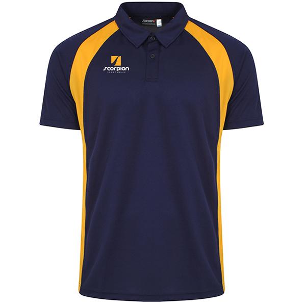 Scorpion Navy Amber ATX Polo Shirt
