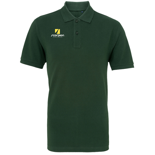 Scorpion Bottle Green Polo Shirt