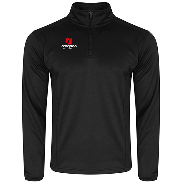 Scorpion Sports Black Midlayer Top