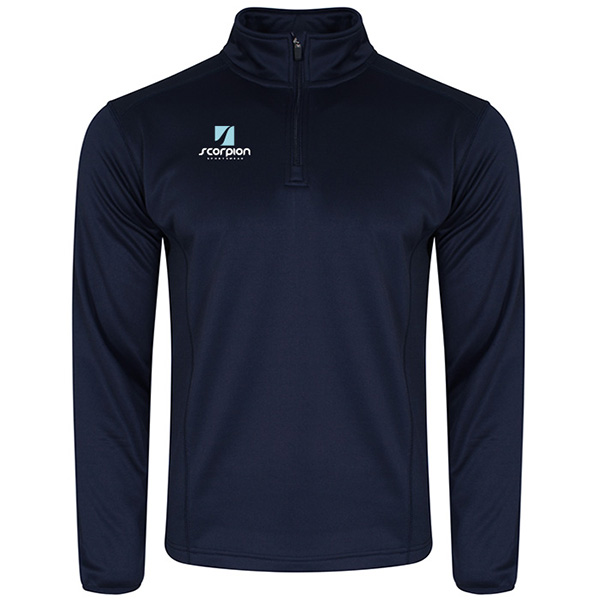 Scorpion Sports Navy Midlayer Top
