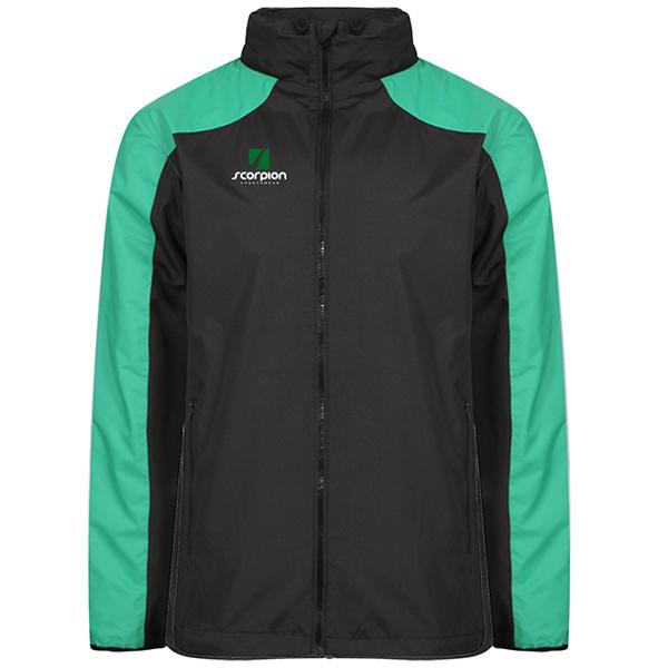 Scorpion Black Green Pro Training Jacket