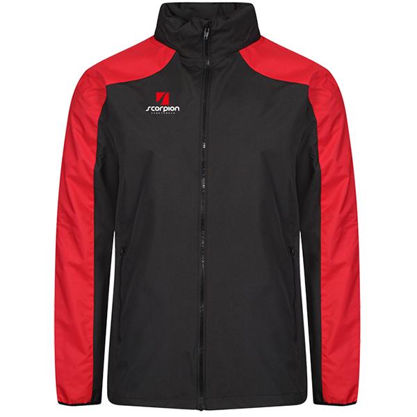 Scorpion Black Red Pro Training Jacket