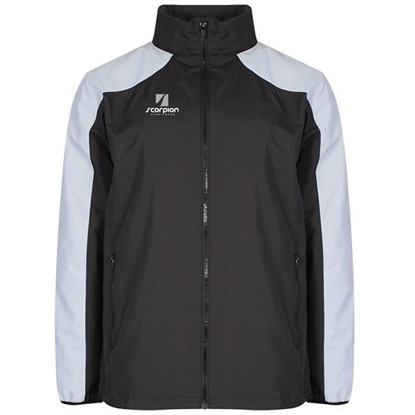 Scorpion Black Silver Pro Training Jacket