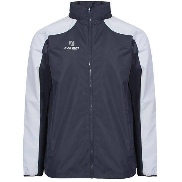 Scorpion Sports Navy Silver Pro Training Jacket