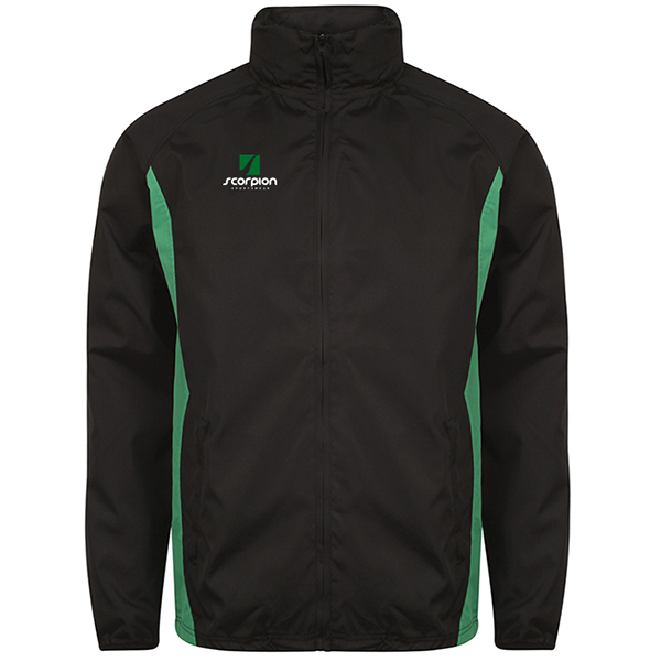 Scorpion Black Green College Jacket