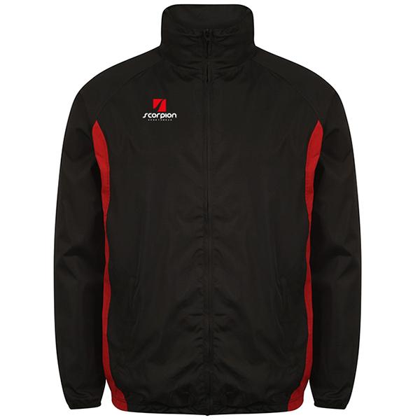Scorpion Black Red College Jacket