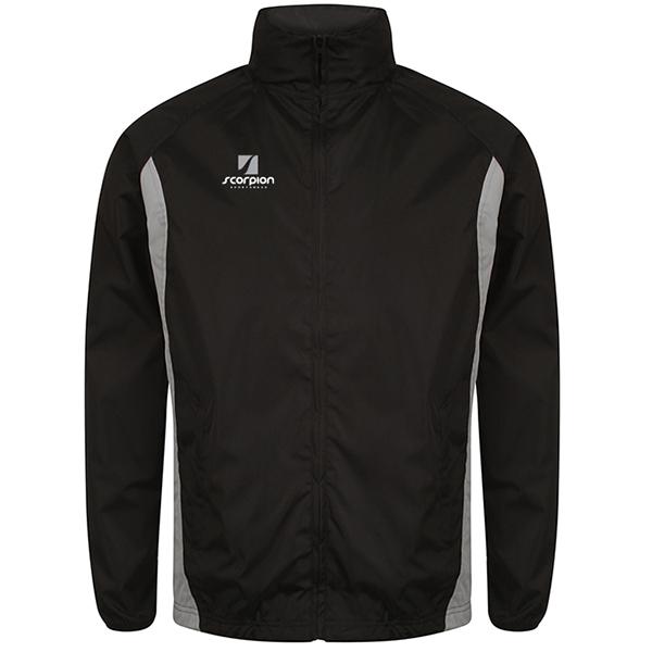 Scorpion Black Silver College Jacket
