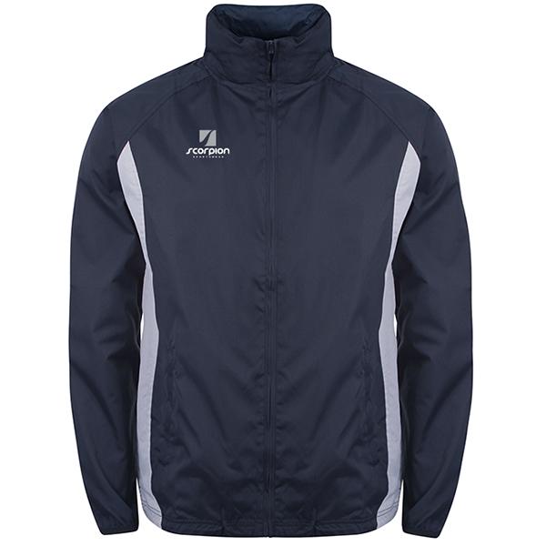 Scorpion Navy Silver College Jacket