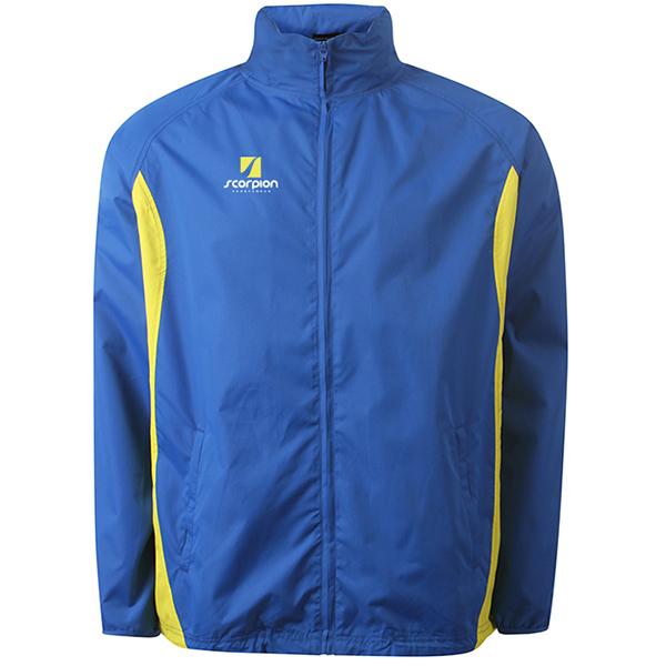 Scorpion Sports Royal Yellow College Jacket