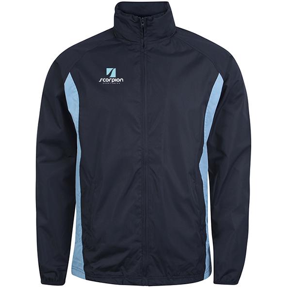 Scorpion Sports Navy Sky College Jacket