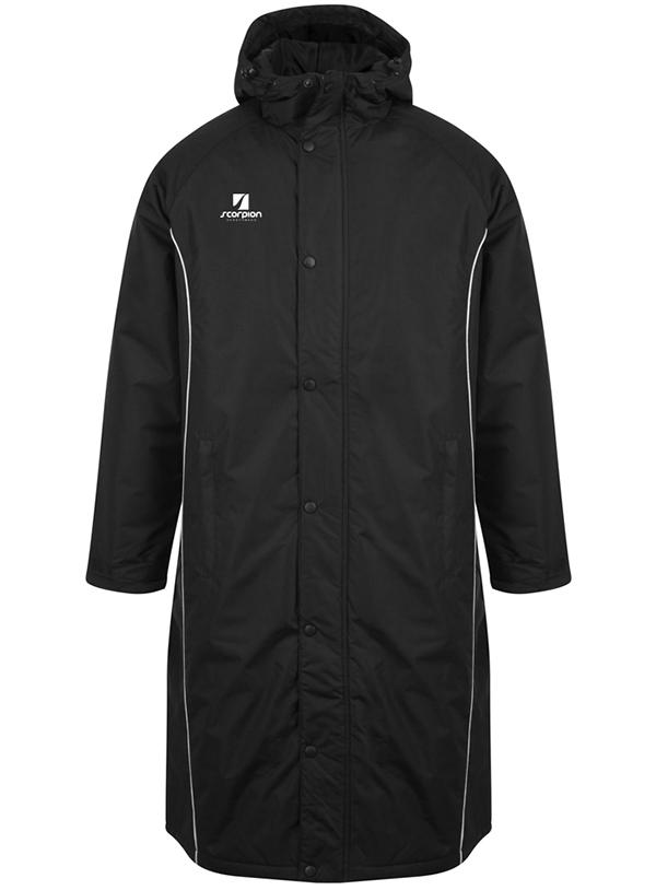 Scorpion Sports Subs Jacket Black