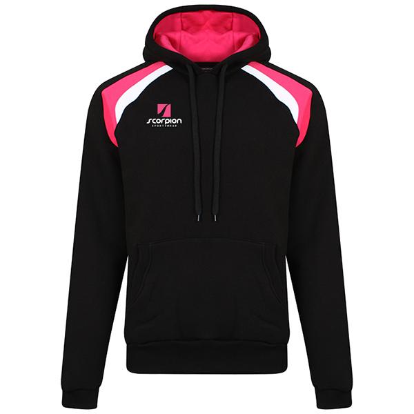 Scorpion Elite Hoodie Black Pink White