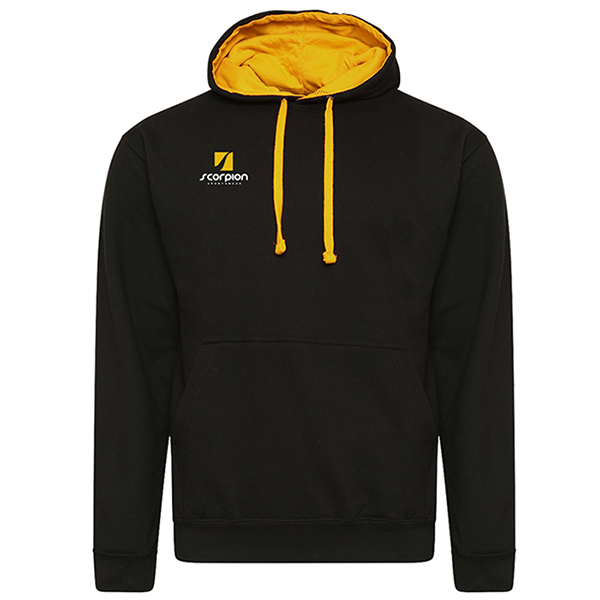 Rugby Tour Hoodies Black Amber