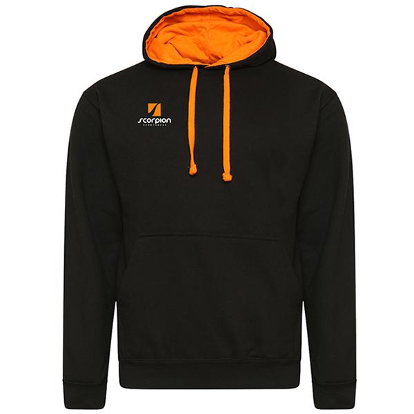 Rugby Tour Hoodies Black Orange