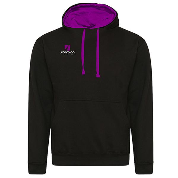 Rugby Tour Hoodies Black Purple