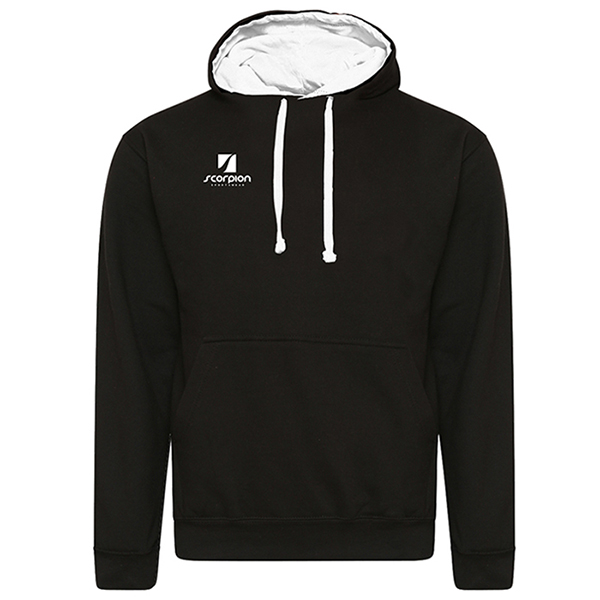 Rugby Tour Hoodies Black White