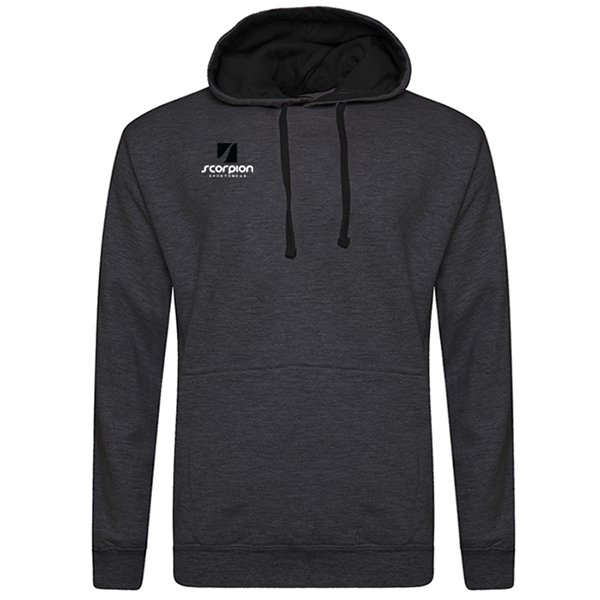 Rugby Tour Hoodies Charcoal Black