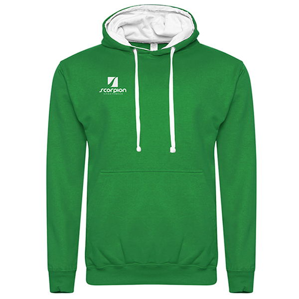 Rugby Tour Hoodies Kelly Green White