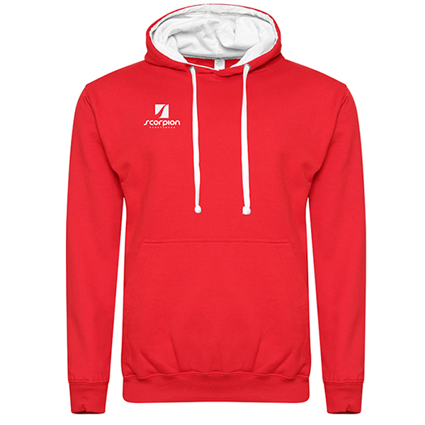 Rugby Tour Hoodies Red White