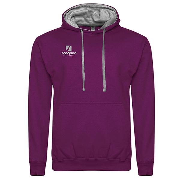 Rugby Tour Hoodies Purple Grey