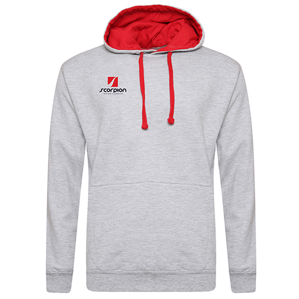 Rugby Tour Hoodies Grey Red
