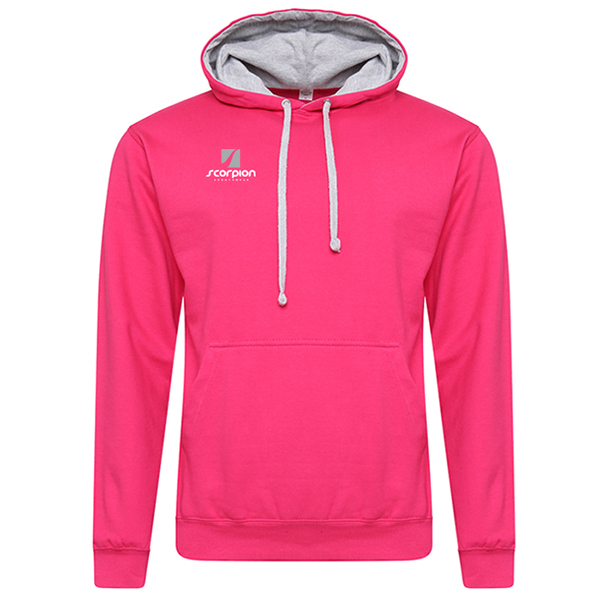 Rugby Tour Hoodies Pink Grey