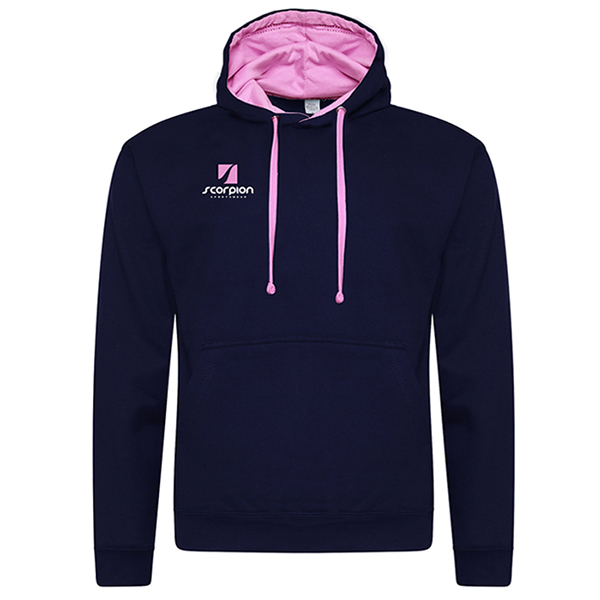 Rugby Tour Hoodies Navy Pink