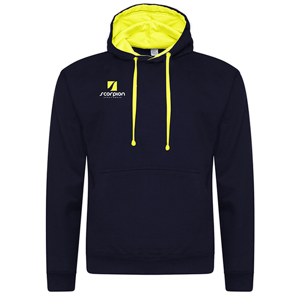 Rugby Tour Hoodies Navy Yellow