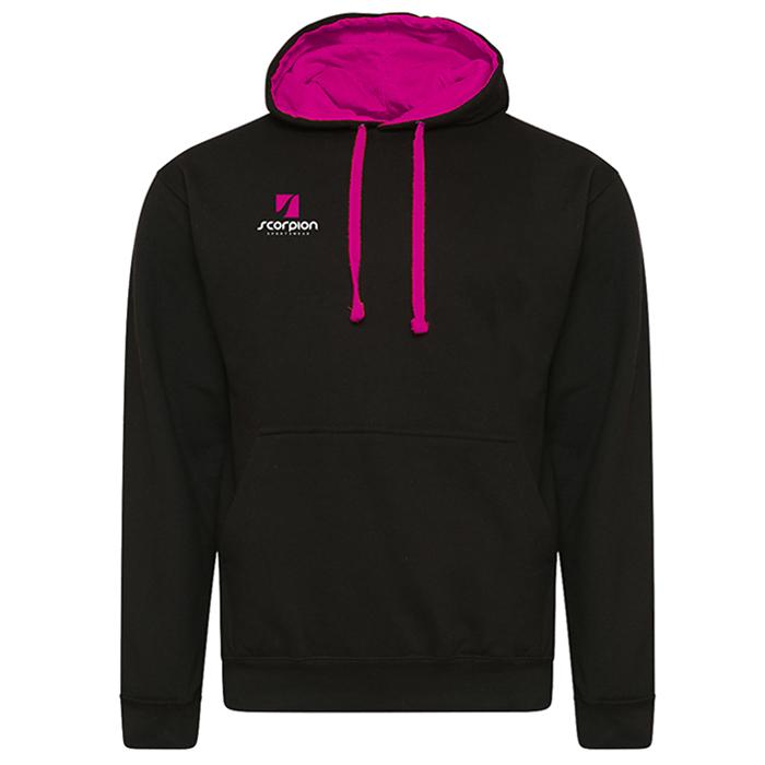 Rugby Tour Hoodies Black Pink