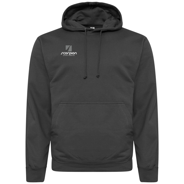 Scorpion Sports Charcoal Cotton Hoodie