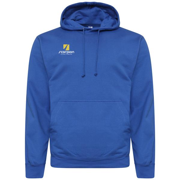 Scorpion Sports Royal Blue Cotton Hoodie