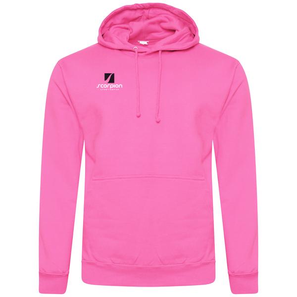 Scorpion Sports Pink Cotton Hoodie