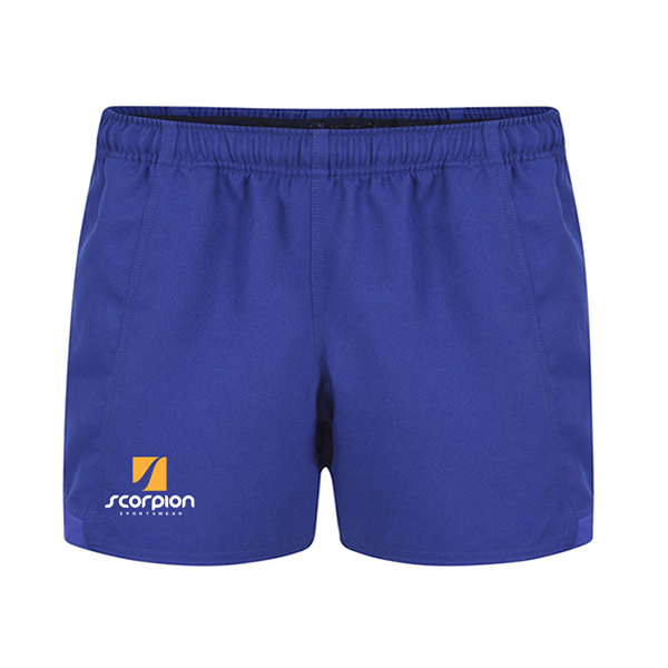 Scorpion Sports Royal Blue Rugby Shorts
