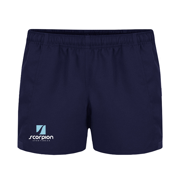 Scorpion Sports Navy Rugby Shorts