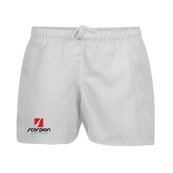 Scorpion Sports White Rugby Shorts