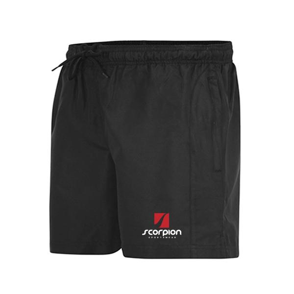 Scorpion Black Leisure Shorts