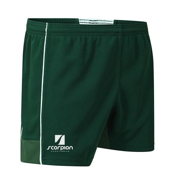 Scorpion Green Performance Shorts