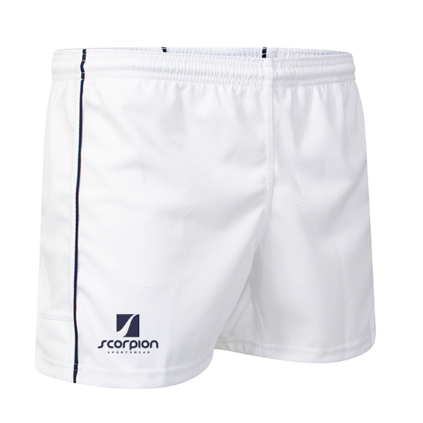 Scorpion White Performance Shorts