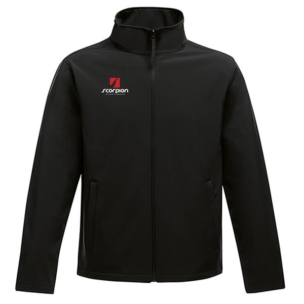 Scorpion Sports Softshell Jacket Black