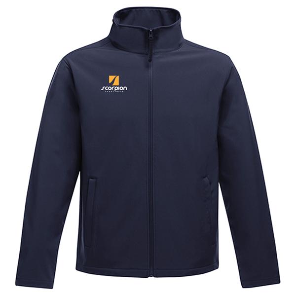 Scorpion Softshell Jacket Navy