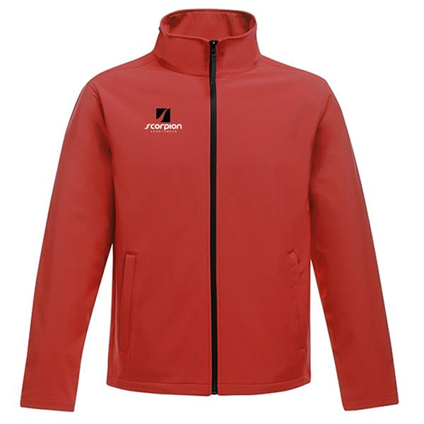 Scorpion Softshell Jacket Red