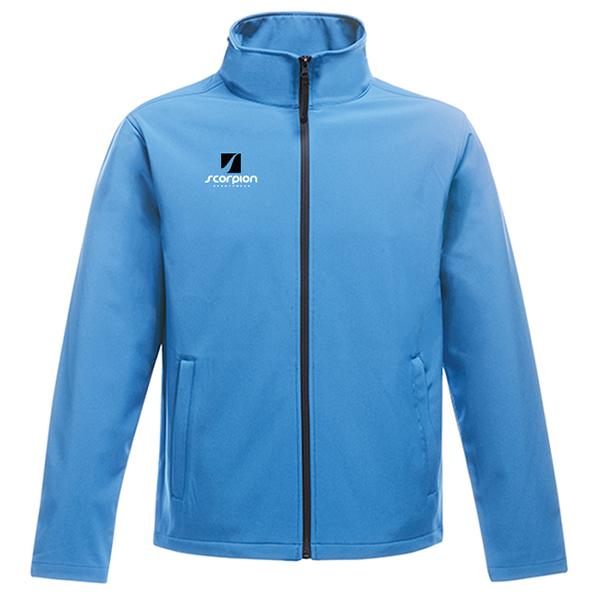 Scorpion Softshell Jacket Light Blue
