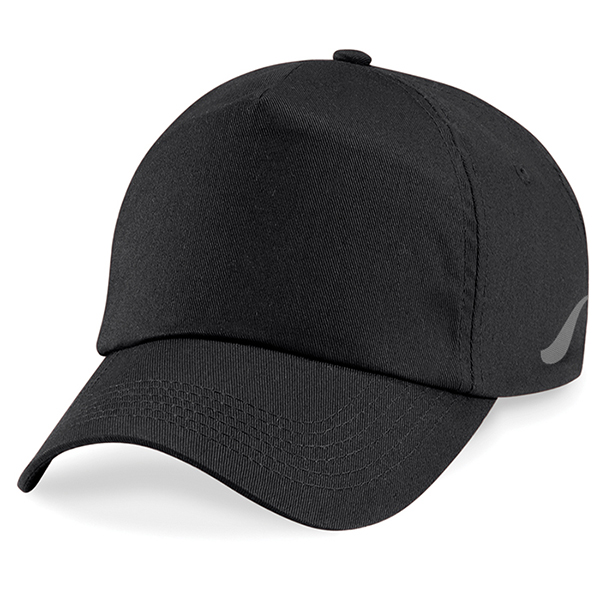 Scorpion Sports Black Panel Caps