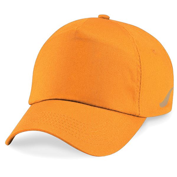 Scorpion Sports Orange Panel Caps